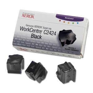 - Xerox Black Solid Ink Sticks. 3 STICKS BLACK GENUINE SOLID INK FOR WORKCENTRE C2424 SISUPL. Solid Ink - Black