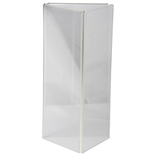 Under Construction Placemat (Clear-Ad - LHE-49 - Acrylic 3-Sided Table Tent Menu Holder 4x9 (Pack of 25))