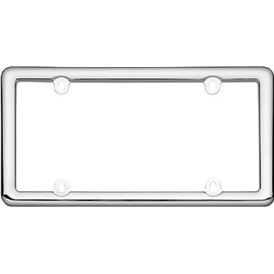 Cruiser Accessories 20643 Nouveau License Plate Frame, Chrome Plastic: Automotive