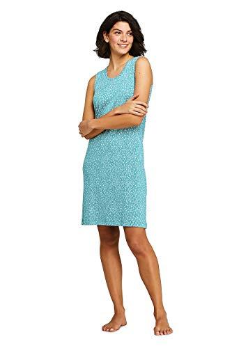 Lands' End Women's Knee Length Tank - Supima Tank Cotton