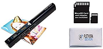 ST470 Vupoint Solutions Magic Wand Portable Scanner with 8GB SD Card /& Cloth