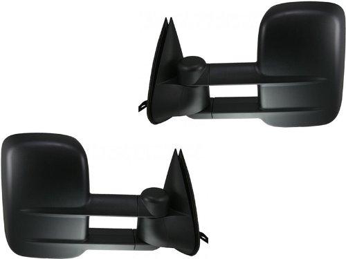 APA Replacement For Chevy Silverado Sierra 03-07 Telescopic Tow Extending Power Heated Mirror Pair Set