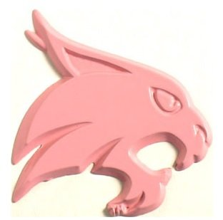 AMG Texas State Bobcats Pink Emblem
