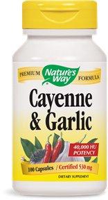 Cayenne и чеснока 530 мг 100 капсул