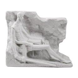 Lladro Porcelain Figurine Quixote Mural Grey -  01008483
