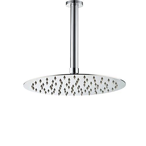 Showerhead Ball - Artbath Ceiling Rain Shower Head Combo,12 inch Ceiling Mounted Shower Head With Brass Shower Arm Set,Chrome Finished