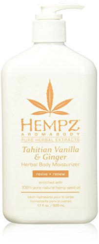 Hempz Tahitian Vanilla & Ginger Herbal Body Moisturizer 17.0 oz ()