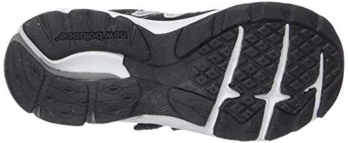 New Balance Boys' 888v2 Hook and Loop Running Shoe, Black/Grey, 2 M US Infant by New Balance (Image #3)