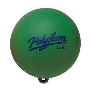 "Polyform 27411191 WS Series Water Ski Buoy-8"" x 8.5"", Green"