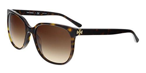 Tory Burch Women's 0TY7106 57mm Dark Tortoise/Brown Gradient Sunglasses
