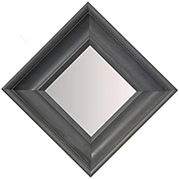 Amazon Com Bd Art Modern Square Wall Mount Mirror With
