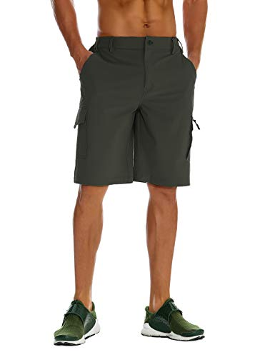 Unitop Mens Hiking Shorts Green S