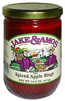 Apple Rings Spiced 3 jars: Jake and Amos by Jake & Amos