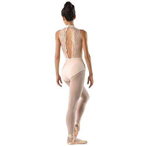 (Ballet Rosa Womens Amelie Lace Leotard 1044LMA Large Ballet Pink)