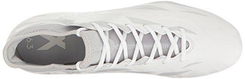 Adidas Prestaties Heren X 16.3 Fg Voetbalschoen Wit / Wit / Clear Grijs