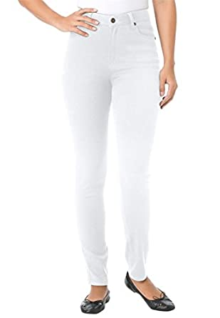 Amazon.com: Plus Size Petite Skinny Stretch Jeans: Clothing
