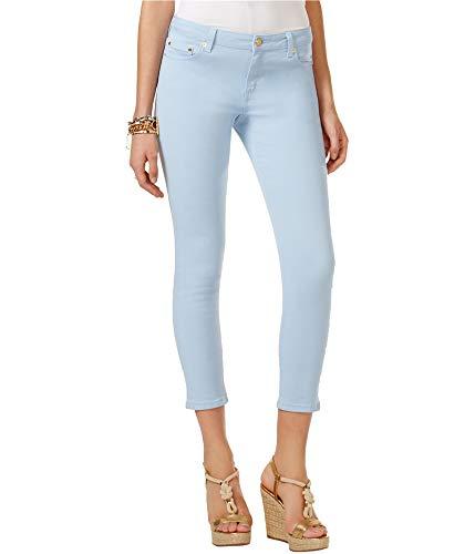 (Michael Kors Womens Izzy Skinny Fit Jeans Blue 6P/24 - Petite)