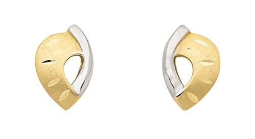 Boucles d'oreilles en or 3338carats rhodié
