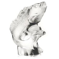Lalique Crystal Carpe Figure 12124
