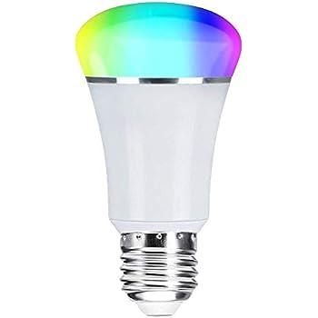 smart wifi bulb weton smart led bulb multicolored light bulbs work with amazon alexa google. Black Bedroom Furniture Sets. Home Design Ideas