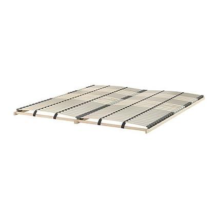 Rvs Wandplank Ikea.Amazon Com Ikea Slatted Bed Base 30 Slats Queen Kitchen Dining