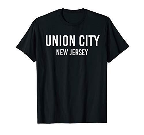 UNION CITY NEW JERSEY NJ USA Patriotic Vintage Sports T-Shirt -