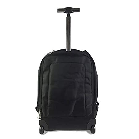 Business Bag for Men and Women XIANWEI Trolley Backpack Computer Backpack Shoulder Trolley Bag Color : Black, Size : 48x20x30cm Color Optional 19/21 Inch