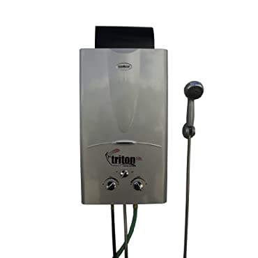 Camp Chef Triton 10 Liter Portable Water Heater with Shower Head (CC_HWD10)