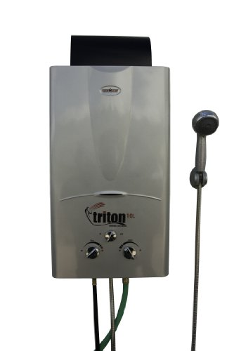 Camp Chef Triton 10L Port. Water Heater Silver