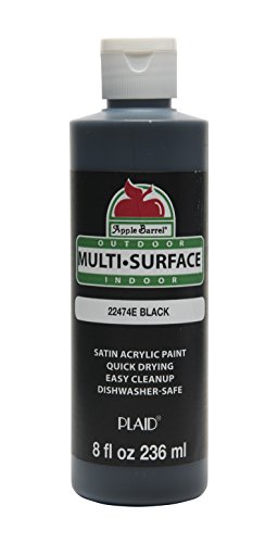 Apple Barrel Multi-Surface Black Paint