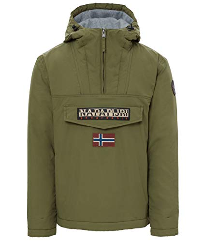Jacket Training Winter (Napapijri Rainforest Winter Jacket Green Musk Large)