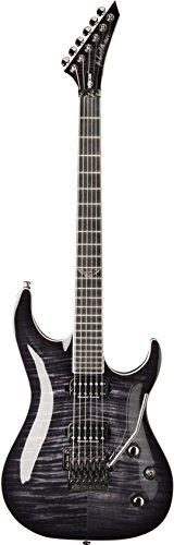 Washburn 6 String Solid-Body Electric Guitar, Trans Black Burst (PXS20FRTBB-D)