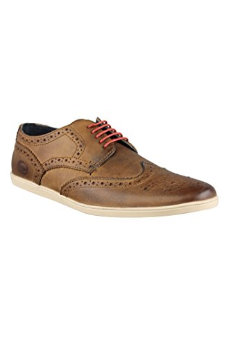 Base London Shore - Zapatos de cordones para hombre Marrón marrón