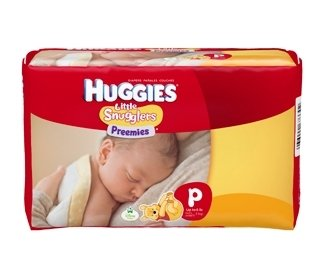 Kimberly Clark Huggies Diaper - 67330CS - Preemie, 180 Each / Case