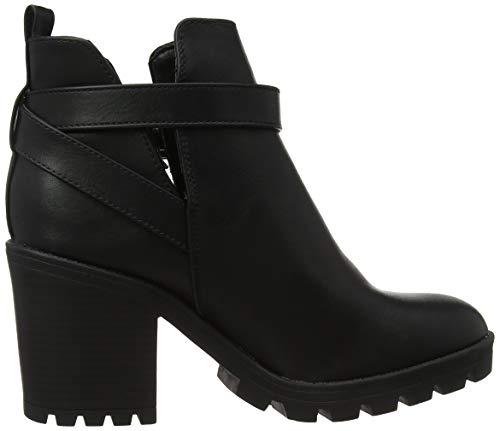 New Noir black Classiques Femme Billie Wide Bottes Look 1 Foot qxZ0qfaBw