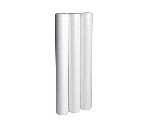 In Home Water Filter Cartridge Pack - Sediment Filtration Cartridges For Your Home 20'' Height x 2.5'' Width (3 pack) BY CFS