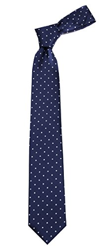 B-11655 - Boys Fashion Necktie Polka Dots Design Dotted Ties Dotted Necktie