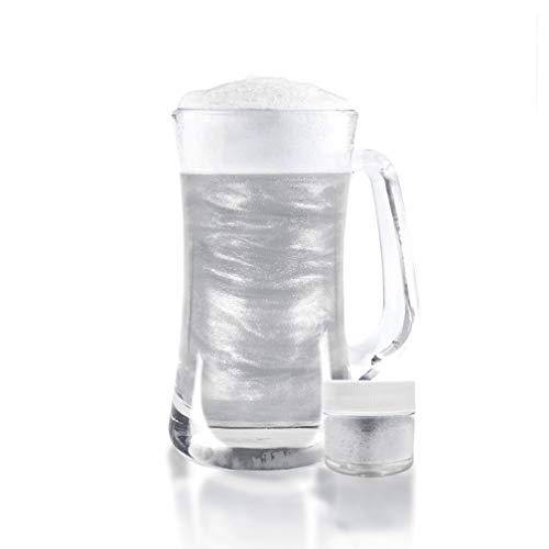 White Beer & Beverage Glitter | 1 lb (450 grams) | Edible Food Grade Beer Glitter, Cocktail Glitter & Beverage Glitter-Dust from Bakell by Bakell (Image #4)