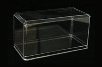 Pioneer Plastics 1-24 Scale Model Standard Display Case Scale Diecast Acrylic Display