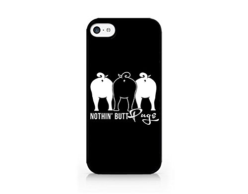 Nothin' Butt Pugs - Cool Pug Dog - Pet Puppy - iPhone 7 Plus/7S Plus Black Case (C) Andre Gift Shop