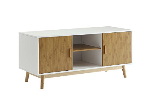 Convenience Concepts 205035 Designs2Go Oslo TV Stand, White