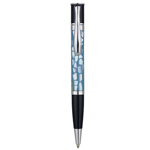 (Monteverde Mini Jewelria Shell Light Blue Ballpoint Pen (MV59231))