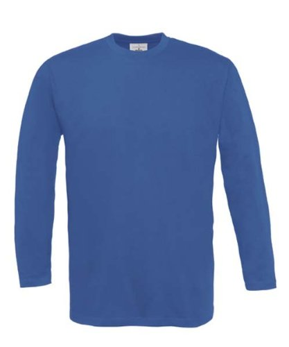 Langarm T-Shirt 'Exact 190' XXL,Royal