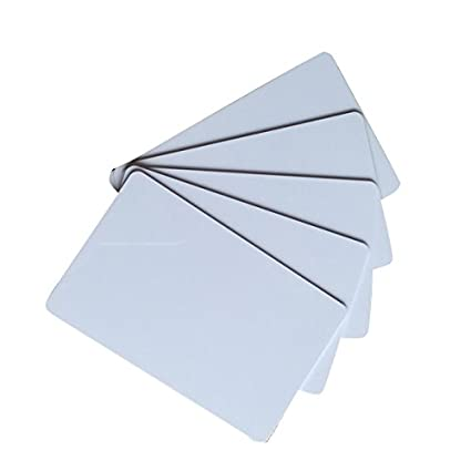 yarongtech rfid 125khz em4305 blank white cards writable rewrite plastic cards pack of 10 - Blank Plastic Cards