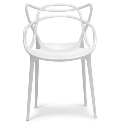 2xhome – Dining Room Chair – White – Modern Contemporary Designer Designed Popular Home Office Work Indoor Outdoor Armchair Living Family Room Kitchen