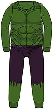 TDP Boys Hulk Pajamas Pjs Set Character Kids Avengers Gift