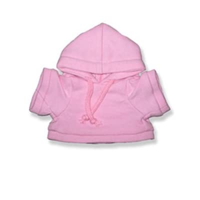 "The Bear Mill Pink Sweatshirt 8 Inch - 2049 Fits 8"" - 10"" Bears, Includes Build a Bear,, and Stuff Your own Animals.: Toys & Games"