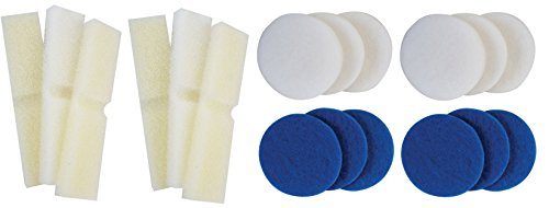 Generic Foam Filter Blocks and Polish Pads for Fluval FX4, (Canister Filter Foam)