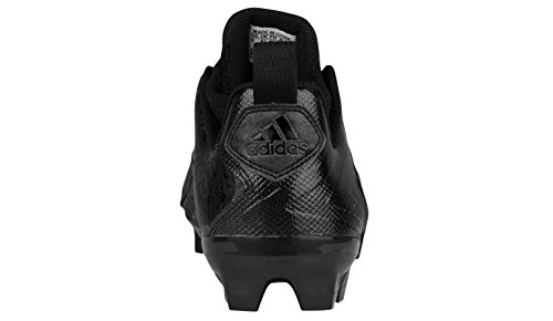 Adidas Performance Crazyquick 2.0 Mid Football Cleat, Black/titanium, 6.5 M Us Black/Black/Black