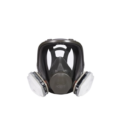 3M Full Face Paint Project Respirator, Large by 3M (Image #1)